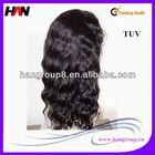 100% Virgin Brazilian grey hair wigs for women