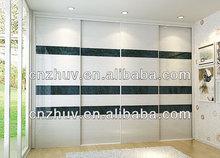 Modular High gloss Wardrobes with sliding door panel