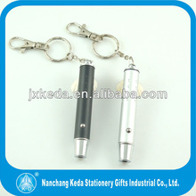 Portable Mini red keychain laser pen for emergency