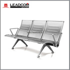 Leadcom new arrival brushed stainless steel bus station waiting chairs (LS-530B)