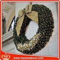 High quality light up christmas wreath