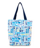 Made in the USA Eco-Artboard EcoSpun tote bag. Constructed out of recycled plastic bottles. Comes with your full color design.