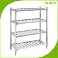 Bn-r06 de servicio pesado de aceroinoxidable de los estantes de metal