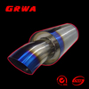 titanium js racing exhaust muffler for car