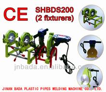 manual 200 pe hdpe pipe butt fusion welding machine flang welding