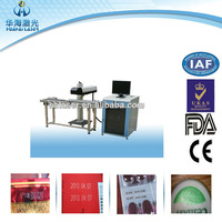 Plastic/Organic glass/Marble/Jade/Crystal/Shell CO2 Laser logo Printing Machine
