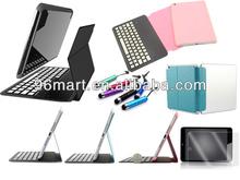 New Ultra thin Metallic Keypad Bluetooth Keyboard case For iPad mini 2