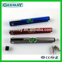 Multifunctional pen shaped level screwdriver tool