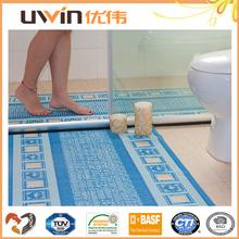 non skid pvc foam disposable bath mats decorative eco quality bath mats