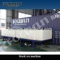 Blocco di ghiaccio industriale che fa macchina/container industriale blocco di ghiaccio che fa la macchina