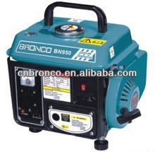 Hot sale 950 400W/650W mini camping gasoline generator with famous engine 1E45F