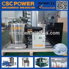 Proveedor equipo 3 T máquina de hielo amoniaco precio de CSCPOWER