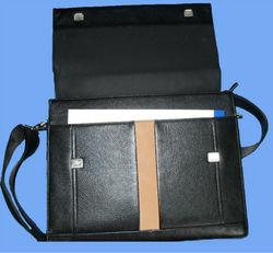 2014 new fashion men genuine leather briefcase fashion men, pu leather briefcase
