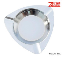 wholesale smoking accessory square ashtray metal ahtray household cleaning tools