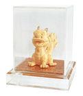 24K Gold plated Q Dragon