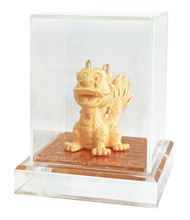 24K Gold plated Q Dragon