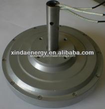 50w 200 rpm sin núcleo disco del imán permanente generador de viento