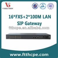 16FXS+2FE VoIP Gateway Modem,VoIP Gateway,sms gateway