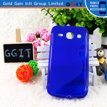 Good quality S type soft TPU smartphone case cover for Samsung G3502