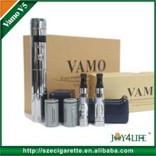 3.0v-6.0v variable voltage e cig mod colored vamo v5 skin with oled display