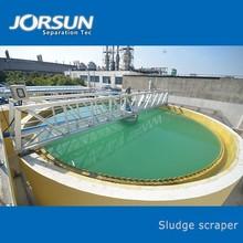 Sludge scraper equipment for water and scum seperation