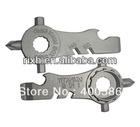 mini titanium multi tool,multifunctional Titanium Bicycle tool,titanium bicycle rack