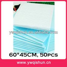 Qishun Wholesale 60x45CM 50pcs Cat For Pet Training Dog Pee Pad