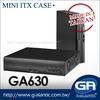 GA630 Car mounted mini itx new computer cases