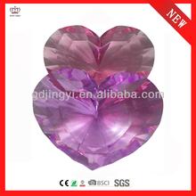 2014 dongguan acrylic decorative heart shaped indian wedding & thanksgiving gift