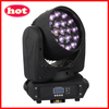 Hot 19 pcs RGBW 4 in 1 12W led moving head zoom led nightclub lighting ( WLEDM-11-1)
