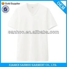 Fashion Design Cheap Plain Cotton Tshirts Simple Design In Bulk