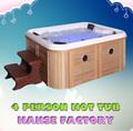 Hanse 4 pessoa banheira quente/whirlpool piscina/melhor bunda banheira de massagem quente hs- 094cy