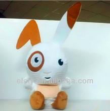 Custom Design Electric Talking Plush Rabbit