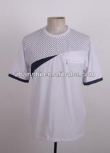 New Design Popular Sport White O-neck Work T-shirt For Men