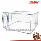 10x10x6ft cheap classic galvanized outdoor dog kennel