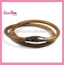 Fashion jewelry bracelet making supplies leather bracelet A000111