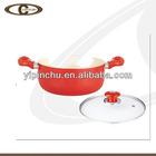 Fire resistant ceramic stock pot