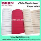plain crystal silk elastic band for belt