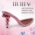 Mulheres pink sapatos plataforma/abs alta calcanhar sola/estável e durável sandálias fh340