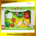 Enfants en plastique légumes et fruits jouet
