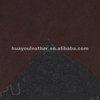 2014 most popular top quality recycled leather fabric for sale