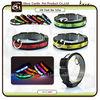 OEM Silkprint Pattern LED Flashing Dog Collar 8 Kinds Colors