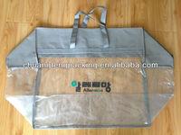 Custom pvc quilt packaging plastic bag pvc bag material