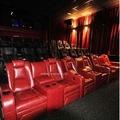 Leadcom moderna de couro reclináveis sala de cinema cadeira vip( ls- 811)