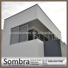 SS016003 Exterior Sliding Aluminium sun louver