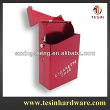 Fashion metal cigarette case for 20 pcs pack cigarettes