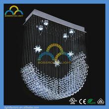 moon shaped light Italian design CUL certifications top chandeliers