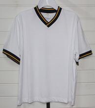 951# stock clothing wholesale 2014 hot sale Kids O-neck V-neck Solid color T-shirt