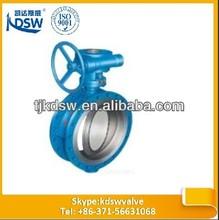 triple offset butterfly valve