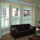 Wooden plantation casement shutter windows